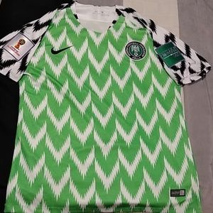 Nigeria 2018 world cup National Soccer jersey